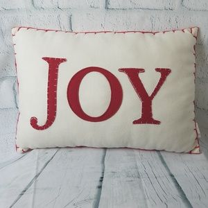 Joy Holiday Pillow